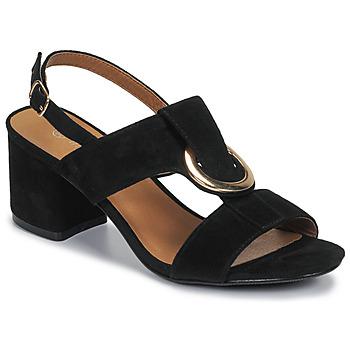 Pantofi Femei Sandale  Moony Mood MANY Negru