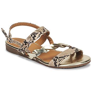 Pantofi Femei Sandale  Moony Mood MELINDA Piton