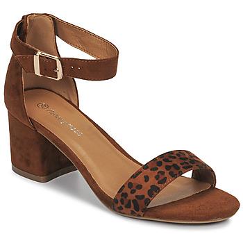 Pantofi Femei Sandale  Moony Mood MEDIO Leopard