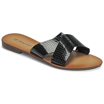 Pantofi Femei Papuci de vară Moony Mood MADISON Negru