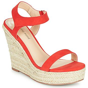 Pantofi Femei Sandale  Moony Mood MARLEINE Roșu