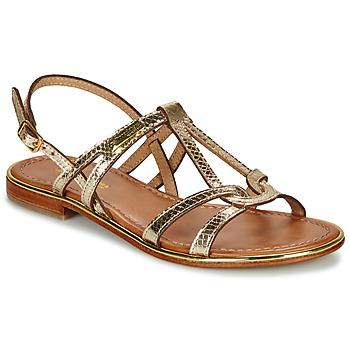 Pantofi Femei Sandale și Sandale cu talpă  joasă Les Tropéziennes par M Belarbi HACKLE Auriu