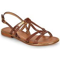 Pantofi Femei Sandale și Sandale cu talpă  joasă Les Tropéziennes par M Belarbi HACKLE Tan