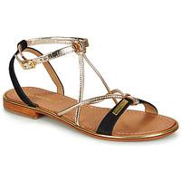 Pantofi Femei Sandale  Les Tropéziennes par M Belarbi HIRONBUC Negru / Auriu