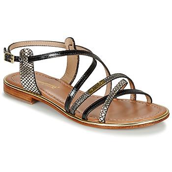 Pantofi Femei Sandale și Sandale cu talpă  joasă Les Tropéziennes par M Belarbi HARRY Negru / Multi