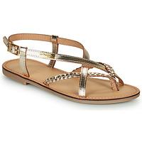 Pantofi Femei Sandale și Sandale cu talpă  joasă Les Tropéziennes par M Belarbi CHOU Auriu