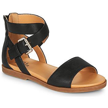 Pantofi Fete Sandale  Bullboxer MELISSA Negru