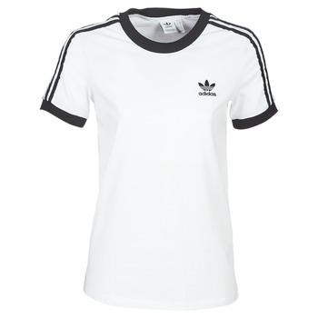 Îmbracaminte Femei Tricouri mânecă scurtă adidas Originals 3 STR TEE Alb