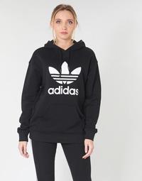 Îmbracaminte Femei Hanorace  adidas Originals TRF HOODIE Negru