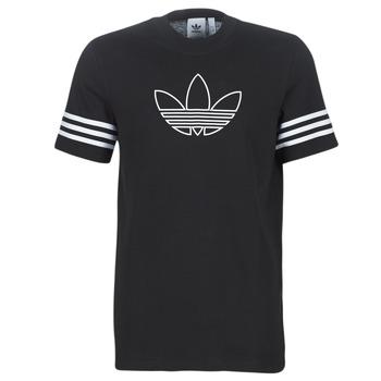 Îmbracaminte Bărbați Tricouri mânecă scurtă adidas Originals OUTLINE TEE Negru