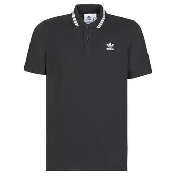 Îmbracaminte Bărbați Tricou Polo mânecă scurtă adidas Originals PIQUE POLO Negru