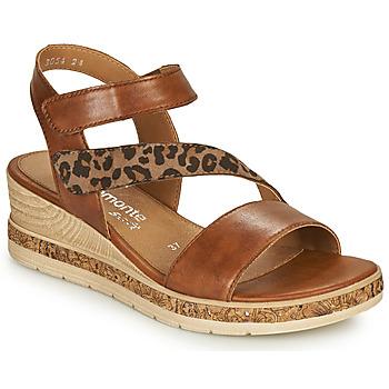 Pantofi Femei Sandale  Remonte Dorndorf HERNENDEZ Coniac / Leopard