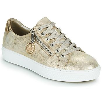 Pantofi Femei Pantofi sport Casual Rieker LIROS Auriu