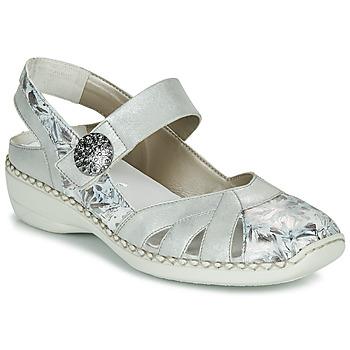 Pantofi Femei Sandale  Rieker KYLIAN Argintiu