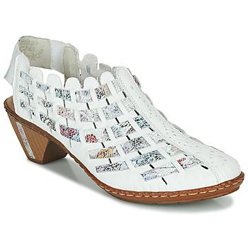 Pantofi Femei Botine Rieker KANIN Alb /  multicolor