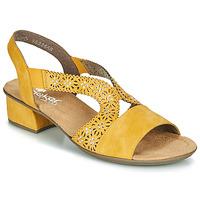 Pantofi Femei Sandale  Rieker NOUCK Galben