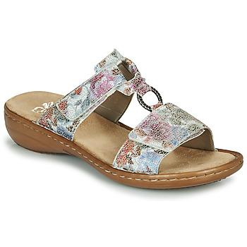 Pantofi Femei Papuci de vară Rieker MOLA  multicolor