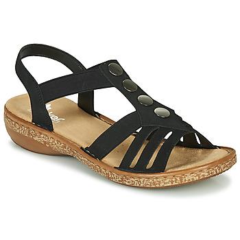 Pantofi Femei Sandale  Rieker NEX Negru