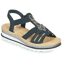 Pantofi Femei Sandale  Rieker LOUANN Negru