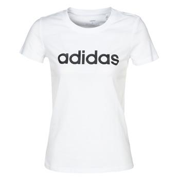 Îmbracaminte Femei Tricouri mânecă scurtă adidas Performance E LIN SLIM T Alb