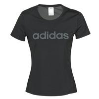 Îmbracaminte Femei Tricouri mânecă scurtă adidas Performance D2M LO TEE Negru