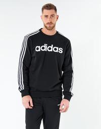 Îmbracaminte Bărbați Hanorace  adidas Performance E 3S CREW FL Negru