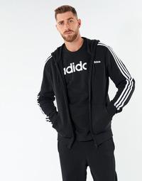 Îmbracaminte Bărbați Hanorace  adidas Performance E 3S FZ FT Negru