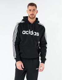 Îmbracaminte Bărbați Hanorace  adidas Performance E 3S PO FL Negru