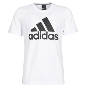 Îmbracaminte Bărbați Tricouri mânecă scurtă adidas Performance MH BOS Tee Alb