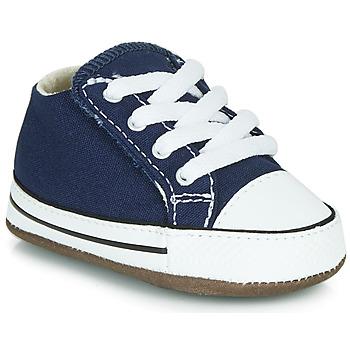 Pantofi Copii Pantofi sport stil gheata Converse CHUCK TAYLOR FIRST STAR CANVAS HI Albastru