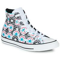 Pantofi Femei Pantofi sport stil gheata Converse CHUCK TAYLOR ALL STAR LOGO PLAY Alb / Negru / Multi