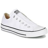 Pantofi Femei Pantofi Slip on Converse CHUCK TAYLOR ALL STAR SLIP CORE BASICS Alb