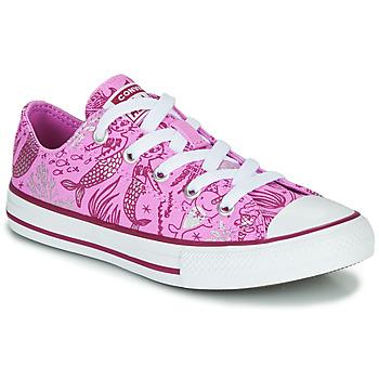 Pantofi Fete Pantofi sport stil gheata Converse CHUCK TAYLOR ALL STAR UNDERWATER PARTY Roz / Multi