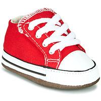 Pantofi Copii Pantofi sport stil gheata Converse CHUCK TAYLOR ALL STAR CRIBSTER CANVAS COLOR Roșu