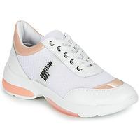 Pantofi Femei Pantofi sport Casual Love Moschino RUN LOVE Alb / Roz