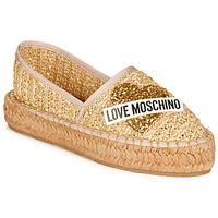 Pantofi Femei Espadrile Love Moschino JA10393G0A Bej