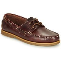 Pantofi Bărbați Pantofi barcă Lumberjack NAVIGATOR Maro