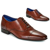 Pantofi Bărbați Pantofi Oxford Azzaro DOGME Coniac