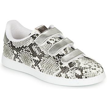 Pantofi Femei Pantofi sport Casual Victoria TENIS SERPIENTE VELCRO Gri