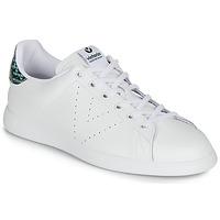 Pantofi Femei Pantofi sport Casual Victoria TENIS PIEL SERPIENTE Alb / Albastru