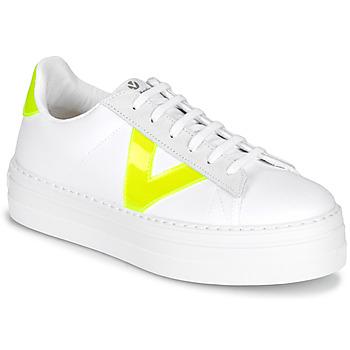 Pantofi Femei Pantofi sport Casual Victoria BARCELONA LONA Alb