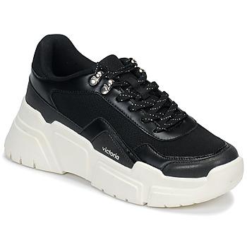 Pantofi Femei Pantofi sport Casual Victoria TOTEM Negru / Alb