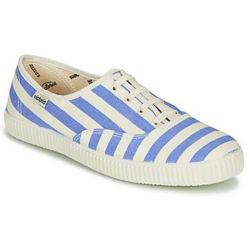 Pantofi Femei Pantofi sport Casual Victoria NUEVO RAYAS Alb / Albastru