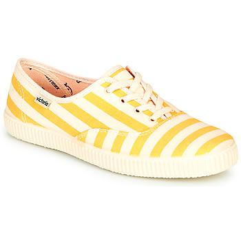Pantofi Femei Pantofi sport Casual Victoria NUEVO RAYAS Galben / Alb