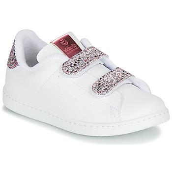 Pantofi Fete Pantofi sport Casual Victoria TENIS VELCRO G Alb