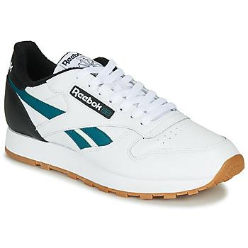Pantofi Bărbați Pantofi sport Casual Reebok Classic CL LEATHER MU Alb / Negru