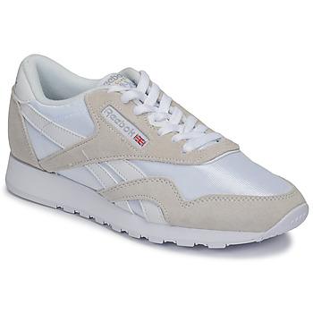 Pantofi Pantofi sport Casual Reebok Classic CL NYLON Alb / Bej