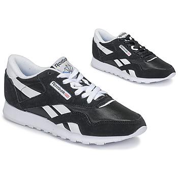 Pantofi Femei Pantofi sport Casual Reebok Classic CL NYLON Negru
