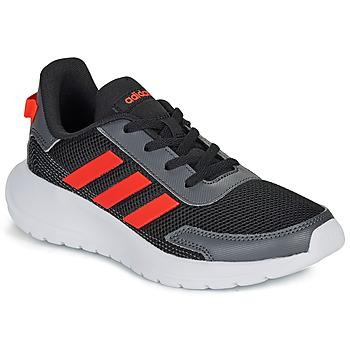 Pantofi Băieți Pantofi sport Casual adidas Performance TENSAUR RUN K Negru / Roșu