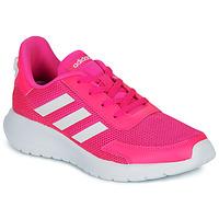 Pantofi Fete Pantofi sport Casual adidas Performance TENSAUR RUN K Roz / Alb